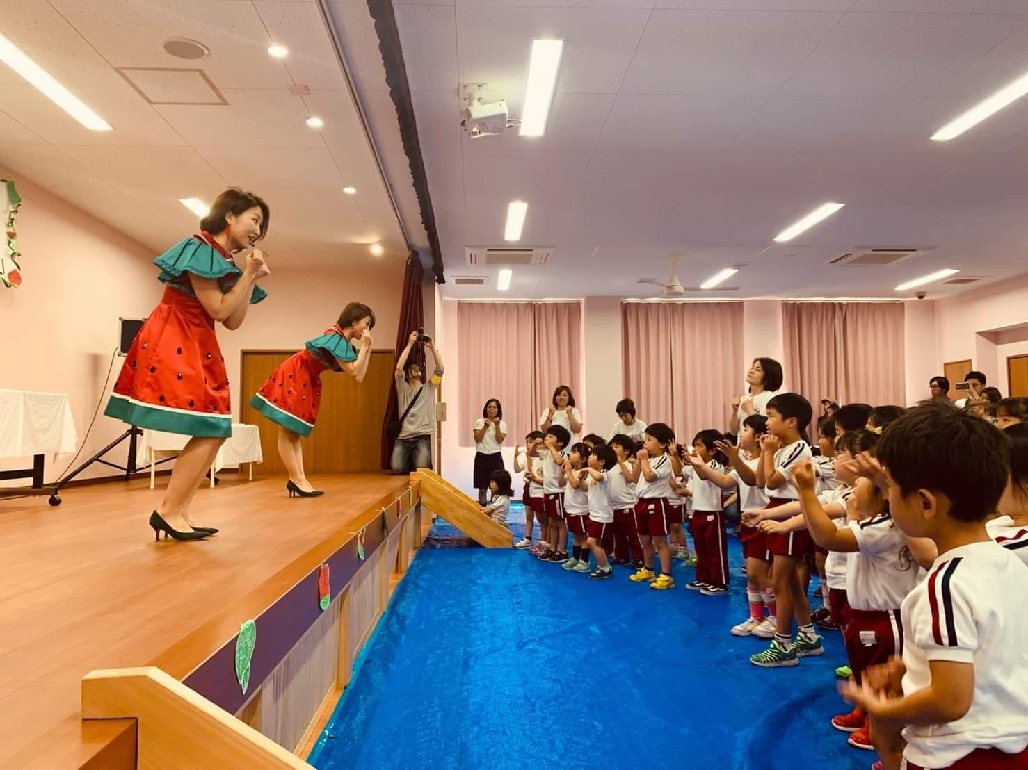 『スイカサンバ!』をこども達と踊ってスイカ丸ごとプレゼント企画!