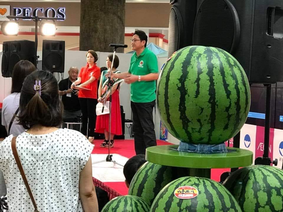 7月27日(土) イオンレイクタウンにてスイカの日イベントを開催いたします。