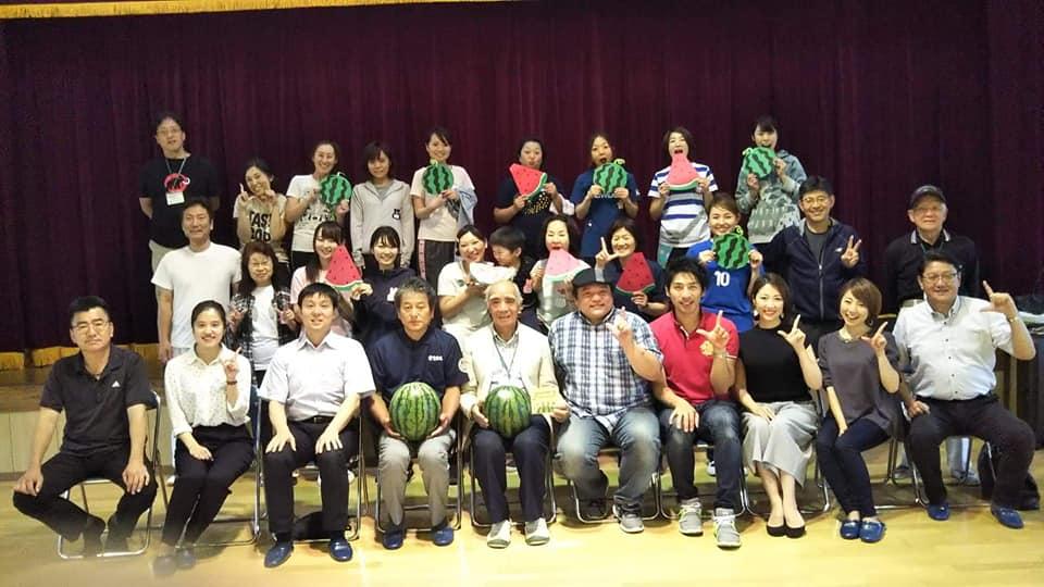 スイカ俱楽部親善大使「ママカラ。」松戸市八柱幼稚園にて食育イベントに出演。