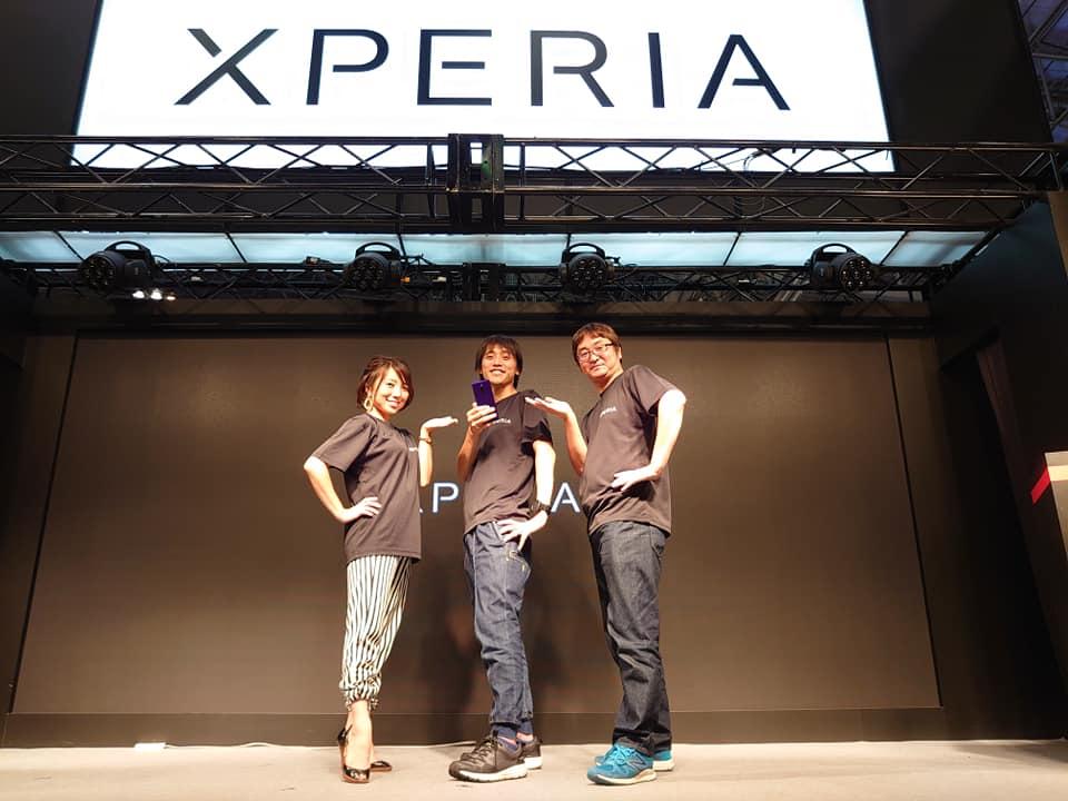 「東京ゲームショウ2019」Xperiaブース生放送に今年も出演しました!